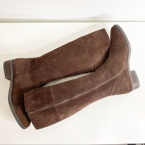 J. Crew Nottingham brown suede Tall Riding Boots